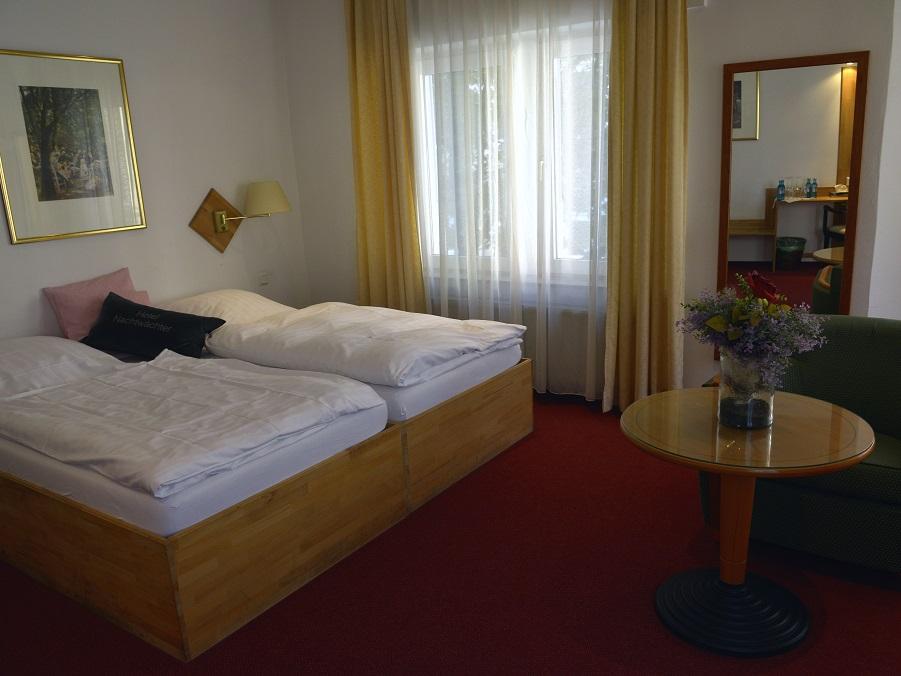 Komfortzimmer im Hotel Nachtwächter